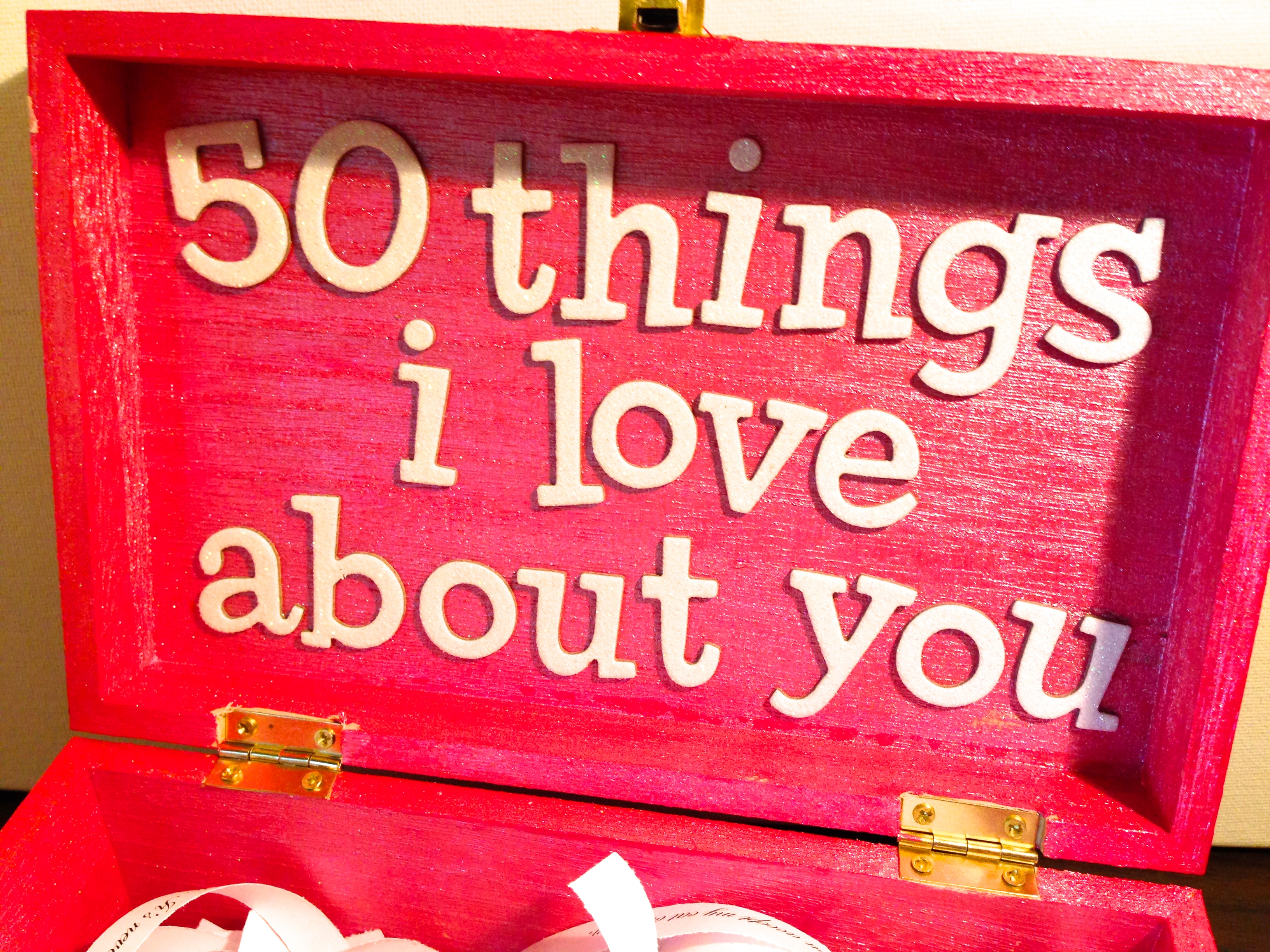 Valentine's Day: 50 Things I Love About You - Revamperate