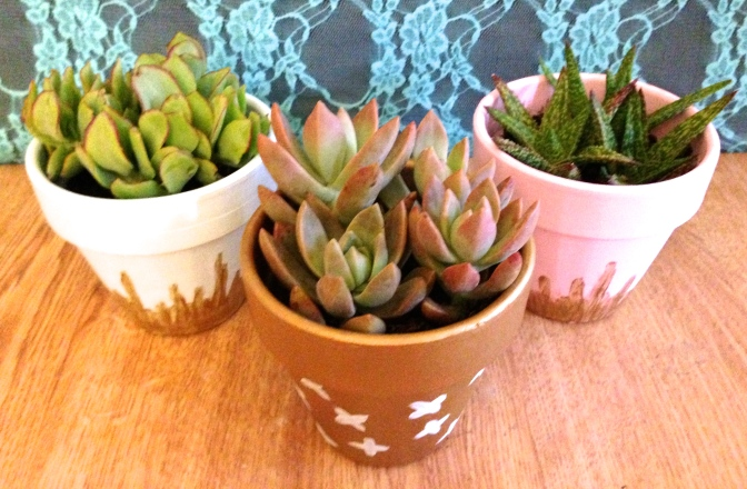 Terracotta Pots: 3 Ways