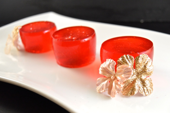 Shirley Temple Jell-O Shots