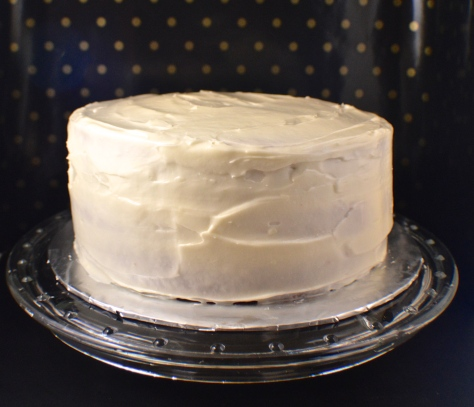 Spice Cake with Butter Rum Frosting