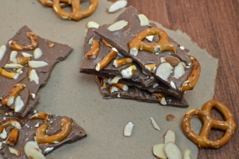 Pretzel Almond Bark | Revamperate