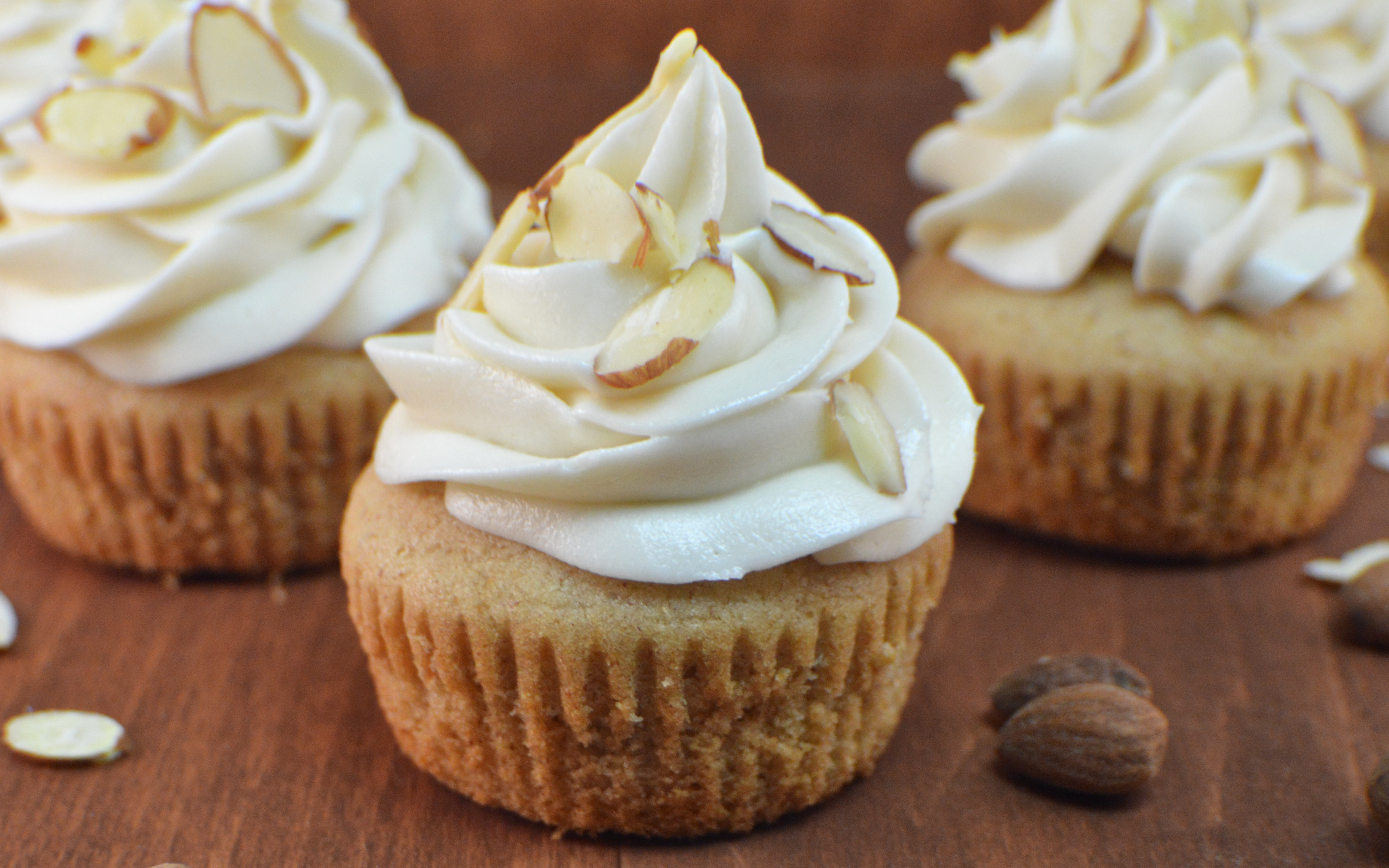 Almond Butter Cupcakes | Revamperate