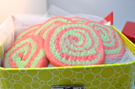 Christmas Pinwheel Sugar Cookies | Revamperate
