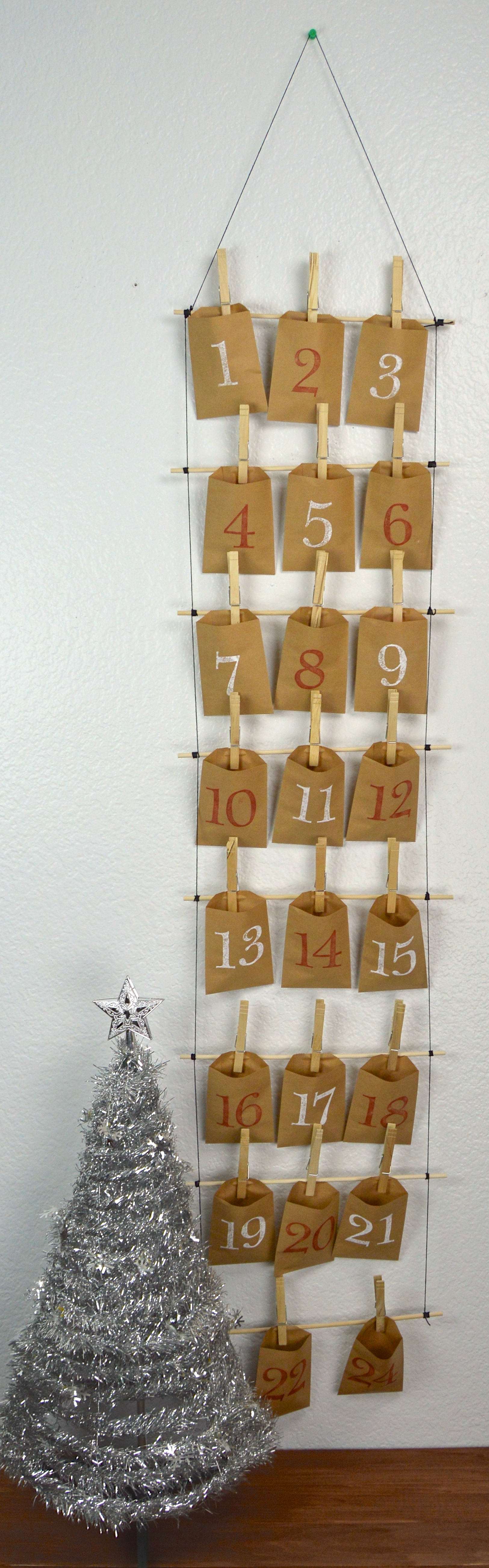 Diy Calendar December : Diy envelope advent calendar revamperate