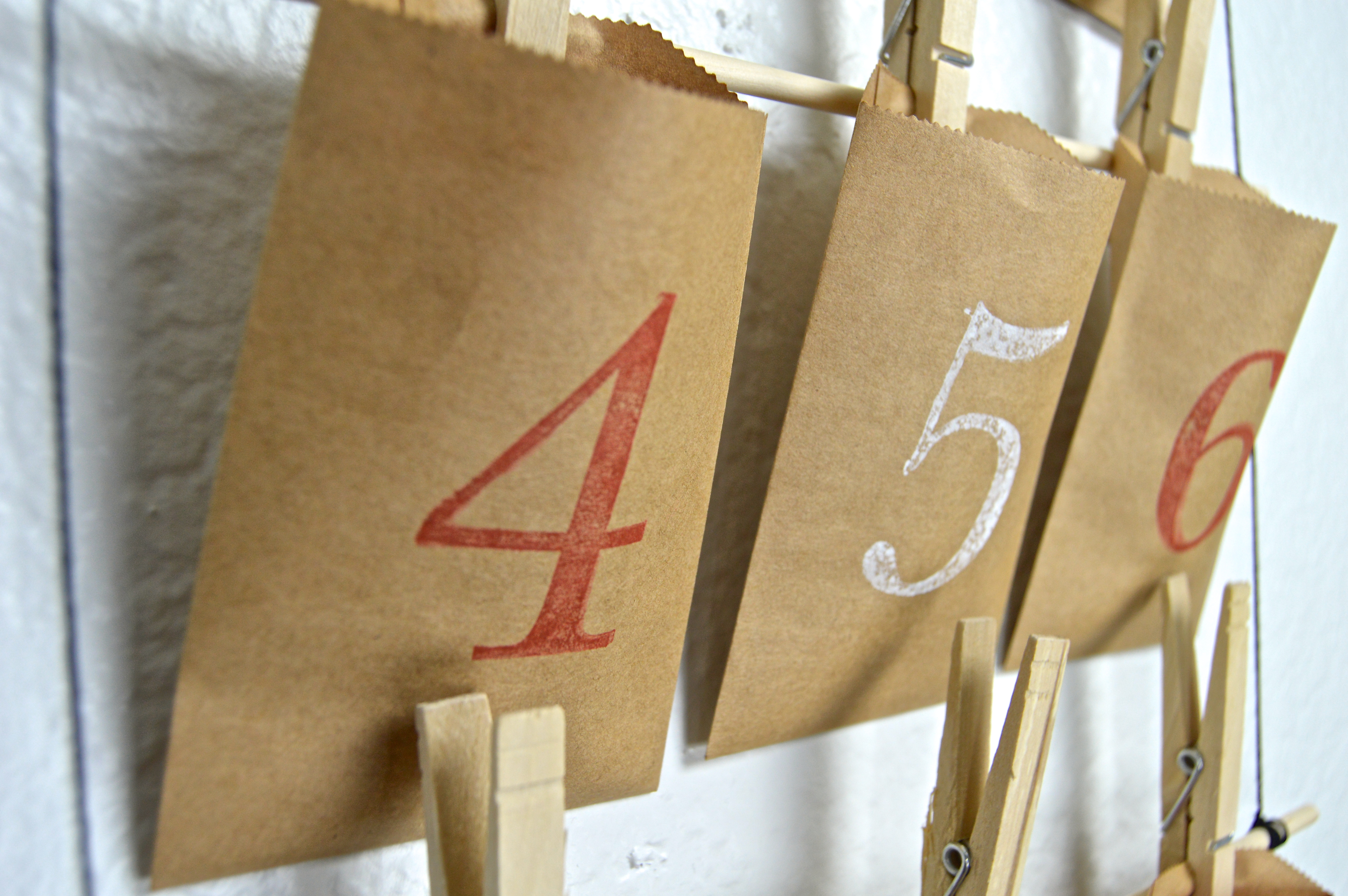 Advent Calendar Envelopes Ideas : Diy envelope advent calendar revamperate